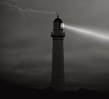 Light at Night by Steven  Agius