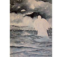 Storm Angel Photographic Print