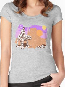 Cowboy Chuck Norris Women's Fitted Scoop T-Shirt