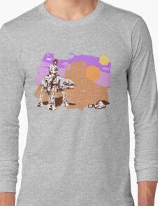 Cowboy Chuck Norris Long Sleeve T-Shirt