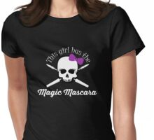 Magic Mascara Womens Fitted T-Shirt