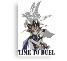 Time to duel! Canvas Print