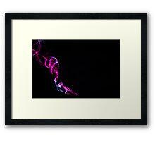 Neon Pink Framed Print