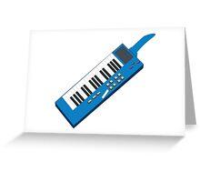 Rockin Keytar Greeting Card