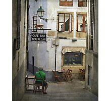 Rúa da Raíña Photographic Print