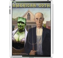 American Goth orig iPad Case/Skin