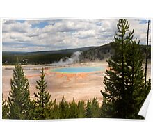The Grand Prismatic, Yellowstone National Park Poster