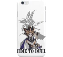 Time to duel! iPhone Case/Skin