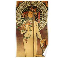 'La Trappistine' by Alphonse Mucha (Reproduction) Poster