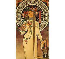 'La Trappistine' by Alphonse Mucha (Reproduction) Photographic Print