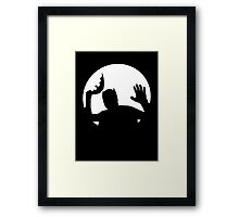 Moonlight Batman Framed Print