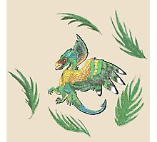 """""""Ancient Wings"""" Quetzalcoatl Feathered Dragon Photographic Print"""