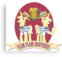 Flim Flam! Canvas Print