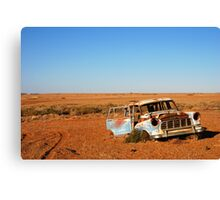 Abandoned rusty Holden Canvas Print