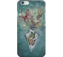 Butterfly bottle iPhone Case/Skin