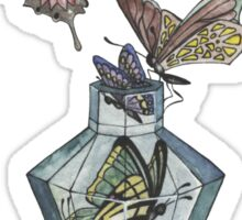 Butterfly bottle Sticker