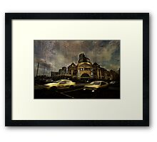 Melbourne Winter 2 Framed Print