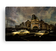 Melbourne Winter 2 Canvas Print