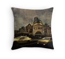 Melbourne Winter 2 Throw Pillow