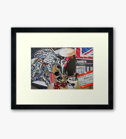 London Calling Framed Print