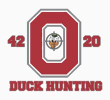 Ohio State Duck Hunting Baby Tee