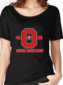 Ohio State Duck Hunting Women's Relaxed Fit T-Shirt
