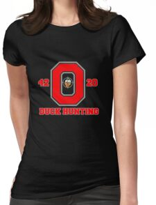 Ohio State Duck Hunting Womens Fitted T-Shirt