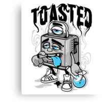 Toasted Canvas Print