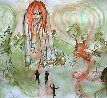 Giantess by hannahhen
