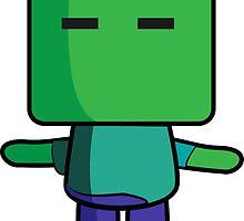 Zombie (Minecraft) Quin by Mattbrush