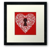 Keys To My Heart Framed Print