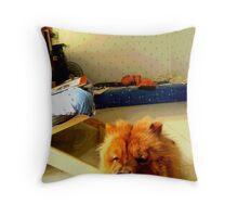 My Boudoir Throw Pillow