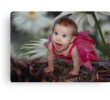 Spring Fairy Canvas Print