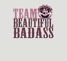 Team Beautiful BadAss Womens Fitted T-Shirt