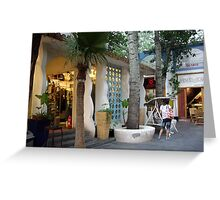 """Olaris Ave., Beijing."" Greeting Card"