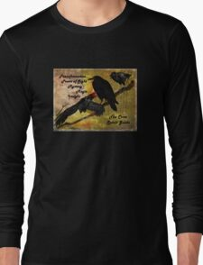 Crow and Raven Spirit Guide Long Sleeve T-Shirt