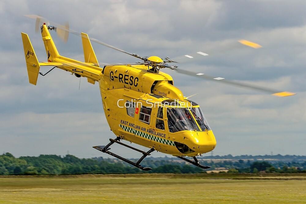 MBB BK.117C-1 G-RESC Air Ambulance by Colin Smedley