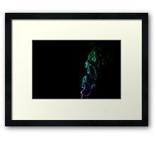 I Dissolve Framed Print