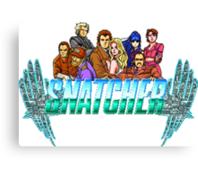 Snatcher (Sega CD) Logo  Canvas Print