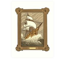 Dipper's Clipper Ship Picture (framed) Art Print