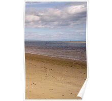 Right-hand panel of Findhorn Bay triptych Poster