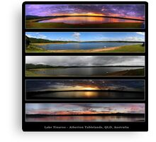 5 Shades of Light Canvas Print
