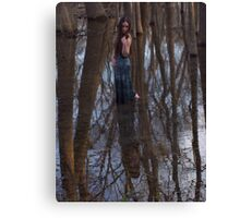walking with giants Canvas Print