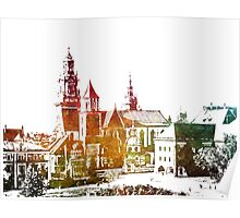Cracow Wawel Poster
