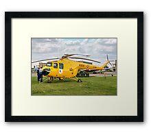 Bristol Sycamore HR.14  XJ380 Framed Print