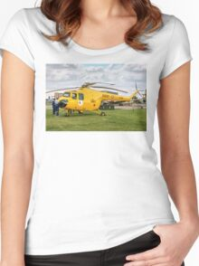 Bristol Sycamore HR.14  XJ380 Women's Fitted Scoop T-Shirt