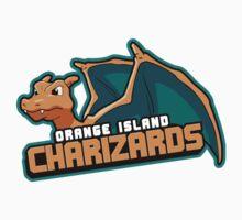 Orange Island Charizards Team Kids Clothes