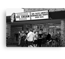 """The best ice cream in town! Canvas Print"