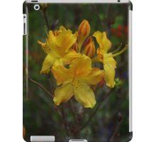 Yellow Azalea iPad Case/Skin