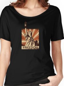 BARISTA FREEDOM! Women's Relaxed Fit T-Shirt